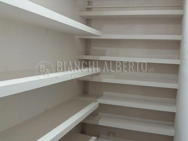 Lavori cartongesso montaggio pareti divisorie for Cabina armadio cartongesso