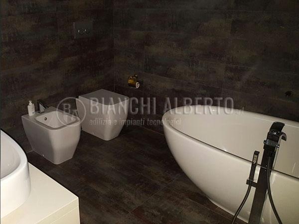 Posa pavimenti civili bologna in resina ceramica cotto e marmo - Rifacimento bagno bologna ...